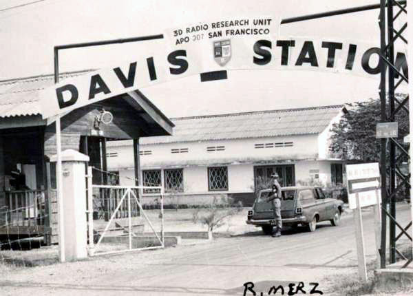 Davis Station Main Gate